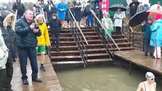 Соревнования по зимнему плаванию 2 февраля 2020 инд. Заплыв