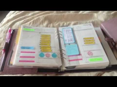 a5 finsbury in antique rose and filofax collection youtube. Black Bedroom Furniture Sets. Home Design Ideas