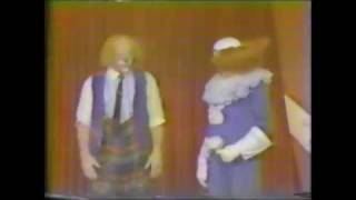 jimmy the ringling brothers and barnum bailey circus clown on the bozo show