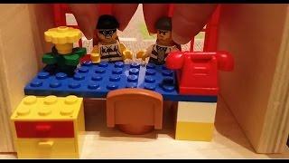 LASTENOHJELMIA SUOMEKSI - Lego city - Ryöstöretki - osa 1