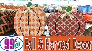 99 Cent Only Store FALL & Harvest Decor!