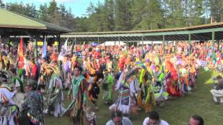 2015 Honor The Earth Pow-wow Grand Entry