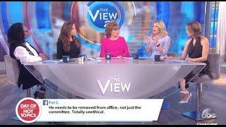 The View - Slams Trump, Nunes, Kushner Over Russia Ties