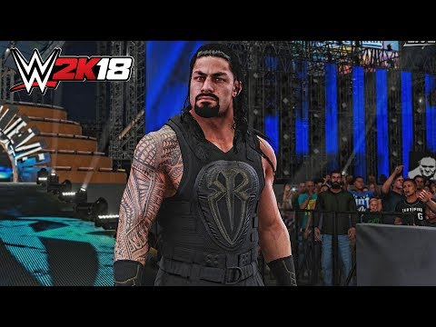 WWE 2K18 Exclusive - Roman Reigns Wrestlemania 33 Entrance!