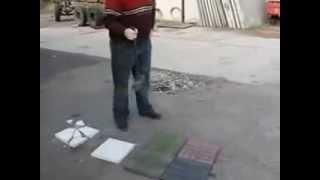 Испытания тротуарной плитки(, 2014-10-07T11:43:15.000Z)