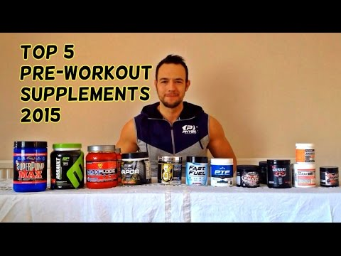 Top 5 PRE WORKOUT Supplements 2015 (February)