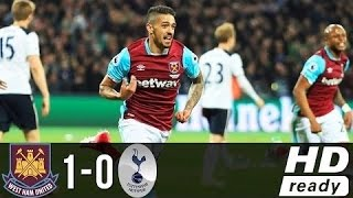 West Ham Vs Tottenham (1-0) - All Goals & Highlights - EPL 05/05/2017 | HD 1080p