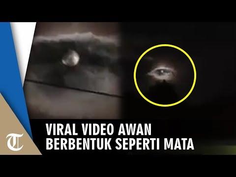 Viral Video Awan Berbentuk Seperti Awan Diduga Terjadi Di Kota Bandung