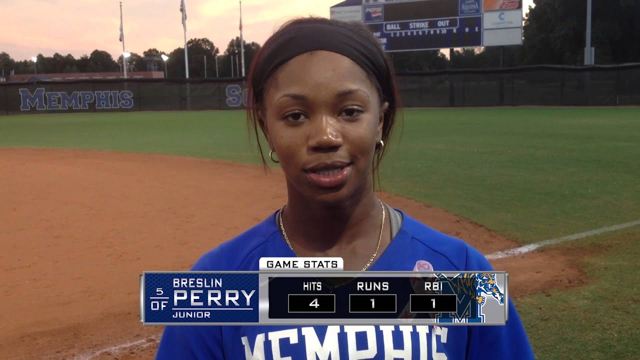 Memphis Softball Postgame vs Harding/Rhodes College - Oct ...
