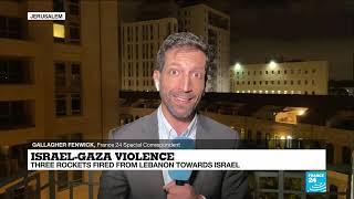 Israeli army shells Lebanon in response to rocket fire