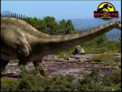sur la terre des dinosaures allosaurus et diplodocus sous titr franais