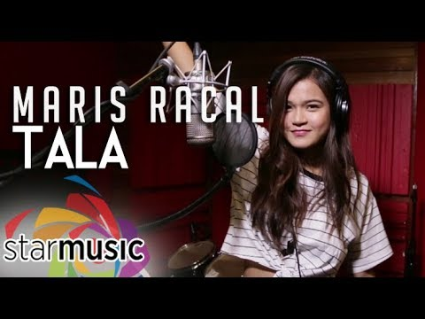 Maris Racal - Tala (Official Recording Session)