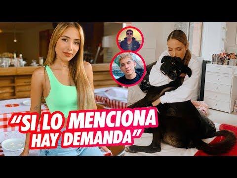 Le Prohíben a Luisa Fernanda W mencionar a Legarda ni usar imágenes de él?