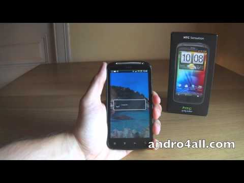 Videoreview HTC Sensation [HD][ESPAÑOL]