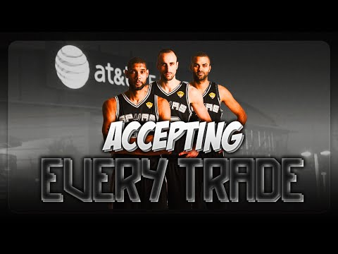 NBA 2K16 Rebuilding Challenge: Accepting Every Trade With The San Antonio Spurs!