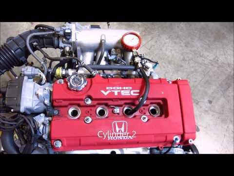 JDMAllianceUSA.com - JDM Honda Civic Type R B16B DOHC VTEC Engine Compression Video - B16B-1005800