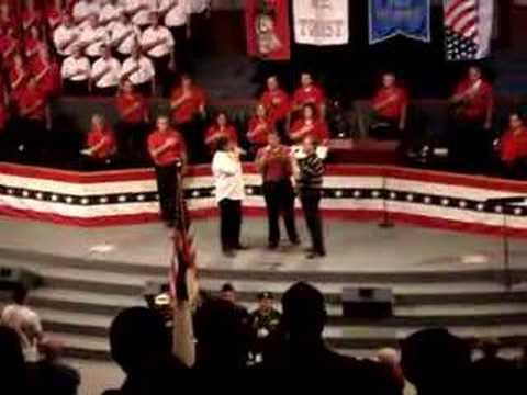 Daniel Crews - Calvary's Voice The National Anthem