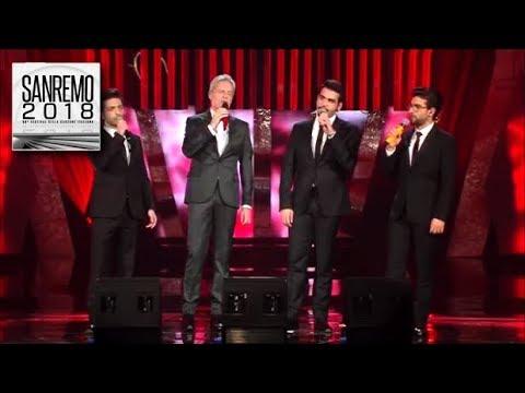 Sanremo 2018 - 2^ serata - Il Volo e Baglioni cantano