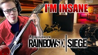 PLAYING RANKED R6 SIEGE WITH A GUITAR HERO CONTROLLER