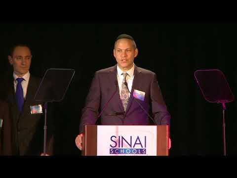 Avi Vogel, President, SINAI Schools - Closing Remarks - Dinner 2018