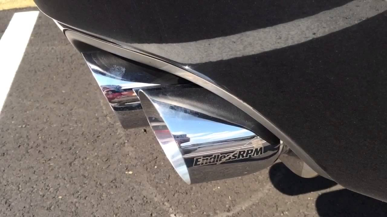 endlessrpm 2004 2008 acura tl performance exhaust system type s v1 5 quads in stock now