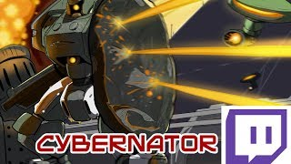 Repeat youtube video Cybernator let's play art play