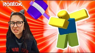 Roblox - A FERA DA MARRETA NOOB (Flee the Facility) | Luluca Games
