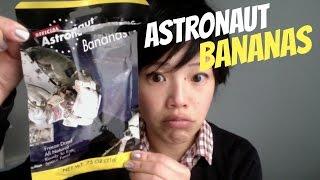 Emmy Eats Astronaut Bananas - Space Food