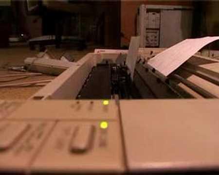 Younnat - Dot Matrix Printer Etude