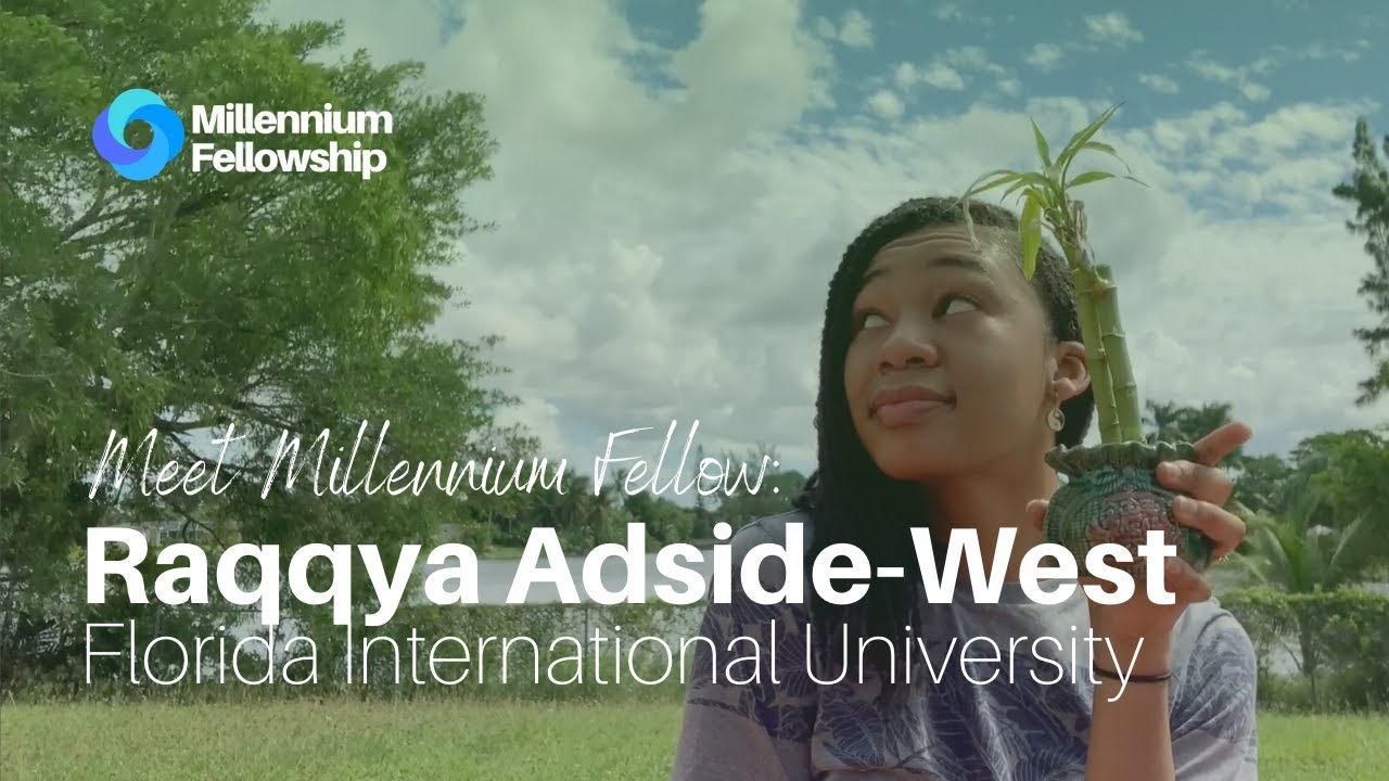 Raqqya Adside-West encourages urban agriculture through her #MillenniumFellowship project