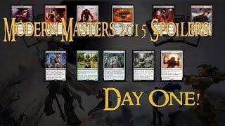 Modern Masters 2015 Spoilers! Noble Hierarch, Mox Opal, Daybreak Coronet!