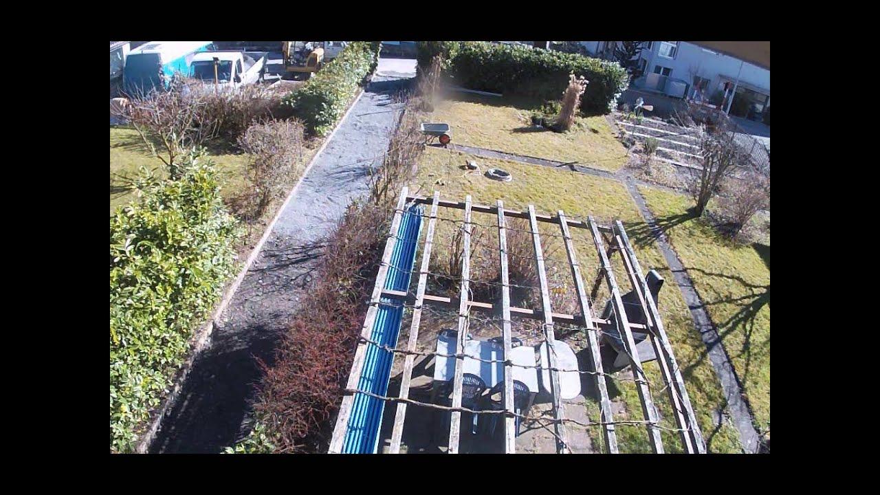 Sanierung Gartenweg 2014 Youtube