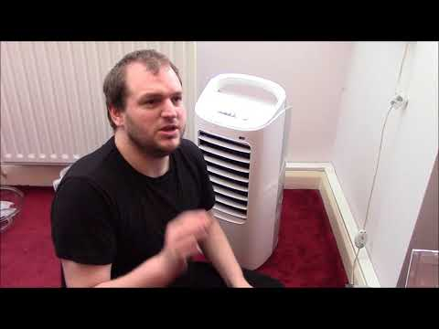 new argos air cooler review youtube. Black Bedroom Furniture Sets. Home Design Ideas