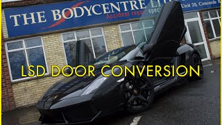 Lamborghini Gallardo LSD Door Conversion The Bodycentre Ltd Norwich
