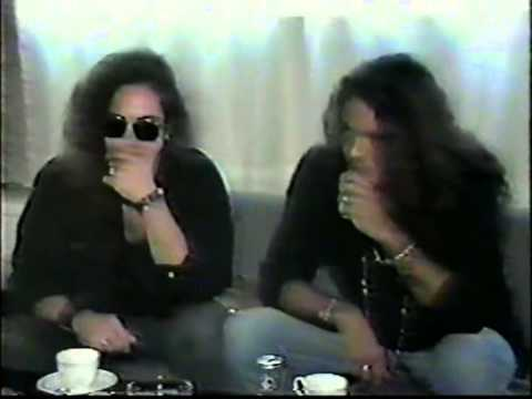 Jake E. Lee and Ray Gillen in Japan