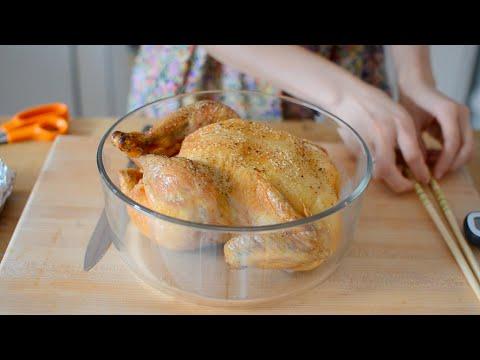 Simple Roast Chicken - Crispy Skin & Juicy Meat
