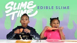 Edible Slime | Slime Time | HiHo Kids