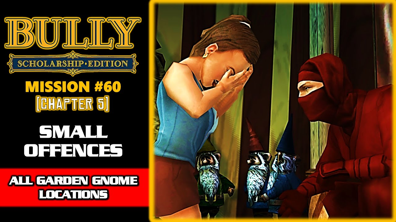 Bully Anniversary Edition Mission 19 Small Offences All
