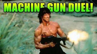 M240B Machine Gun Duel! & Sh*t Matimio Says | Battlefield 4 LMG Gameplay