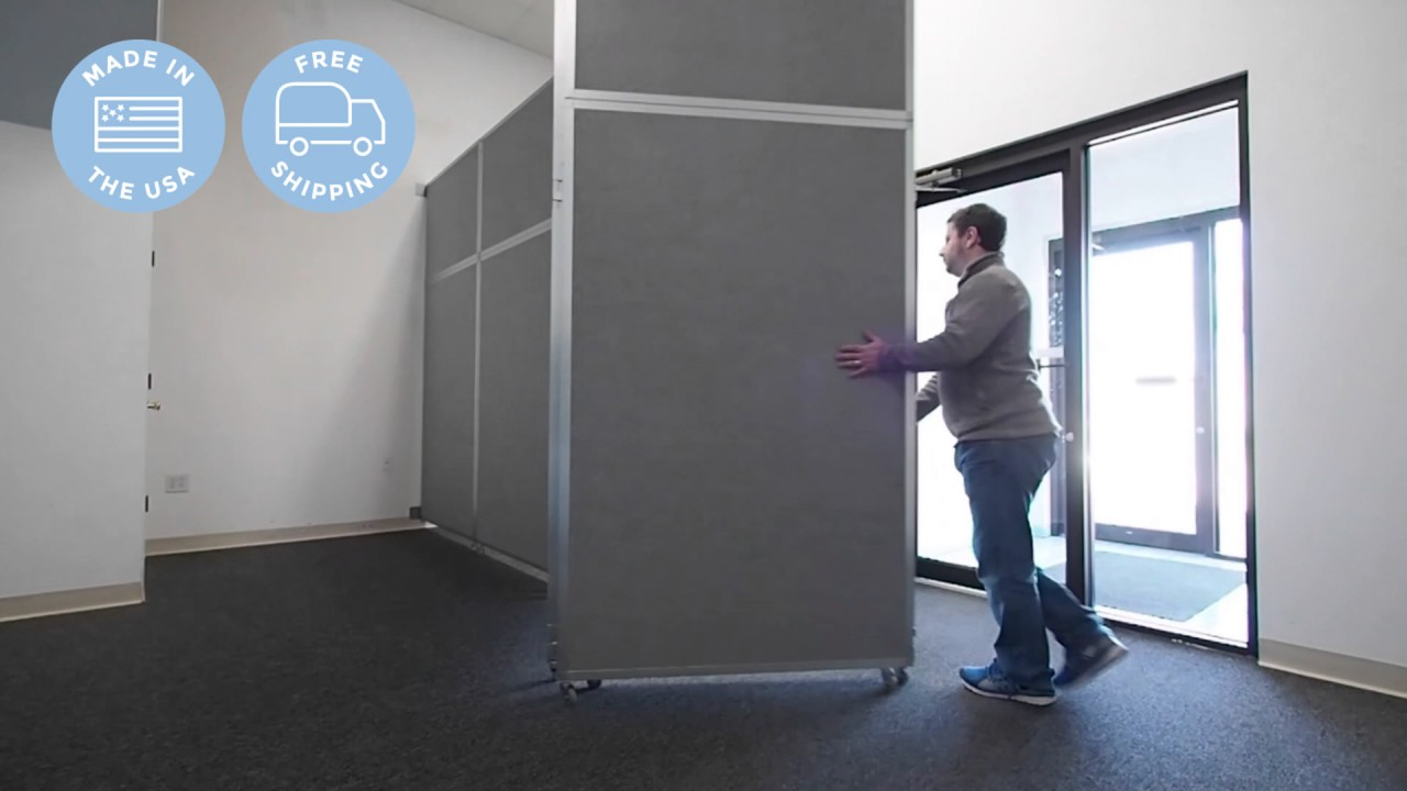Divide Space With Versareu0027s Operable Wall Room Partition & Divide Space With Versareu0027s Operable Wall Room Partition - YouTube