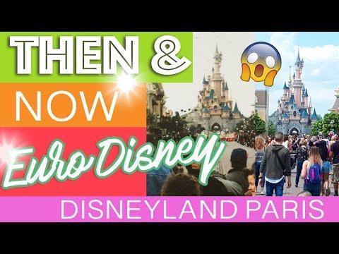 EuroDisney 1993 Vs TODAY   Comparing Vintage Disneyland Paris To The Modern Version