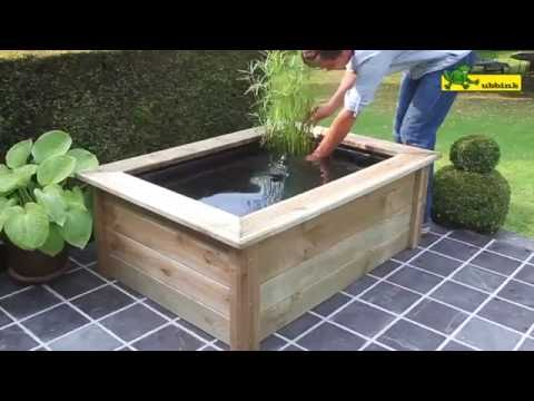 tuto installation d 39 un bassin en bois quadra woodframe youtube. Black Bedroom Furniture Sets. Home Design Ideas