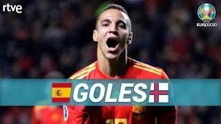 GOLES España 4-0 Islas Feroe   Clasificatorio Eurocopa 2020