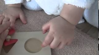 12か月の赤ちゃんとパズルで遊ぶ方法 英語マニュアル&プログラムを使...