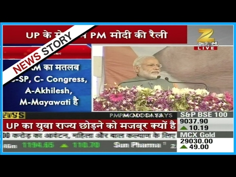 PM Modi's live speech from Meerut   Part II