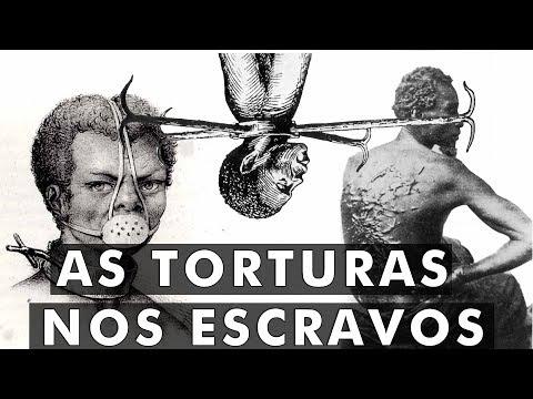 6 piores TORTURAS usadas nos ESCRAVOS