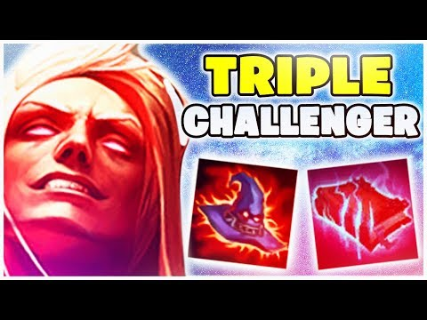 TRIPLE CHALLENGER - Best Of Noway4u Twitch Highlights LoL