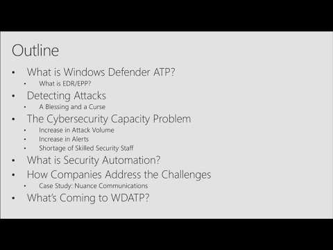 Automated response with Windows Defender ATP  - BRK3062