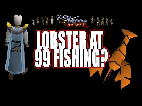 99 Fishing Vs. 72 Fish On Lobsters | Old School Runescape | OSRS