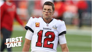 Will Tom Brady still be playing in the NFL at 50? | First Take